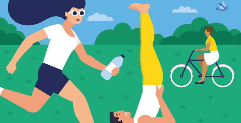 Körperliche Aktivität: sind Sie ein Sonntagssportler?