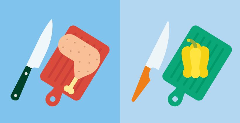 Lebensmittelhygiene zuhause: Vermeidung von Lebensmittelinfektionen