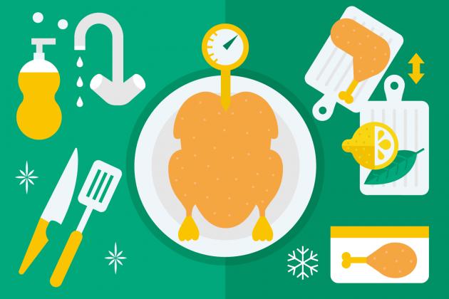 Korrekte Nahrungsmittelaufbewahrung im Kühlschrank