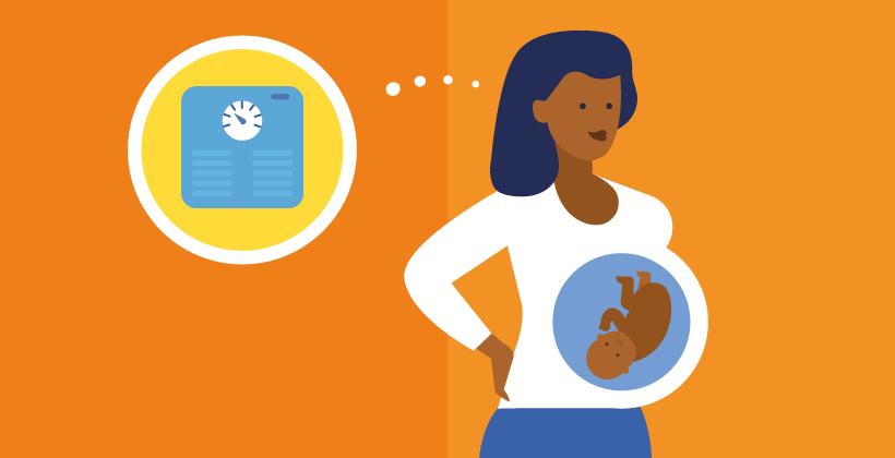 Zur Bedeutung von Gewichtsproblemen in der Schwangerschaft