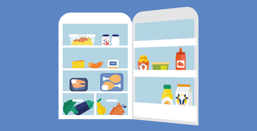 What foods should (or not) be stored in the fridge?