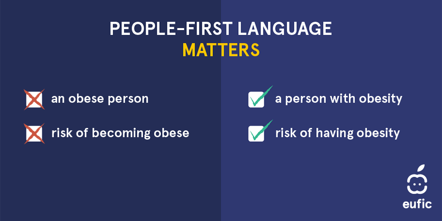 people first language obesity