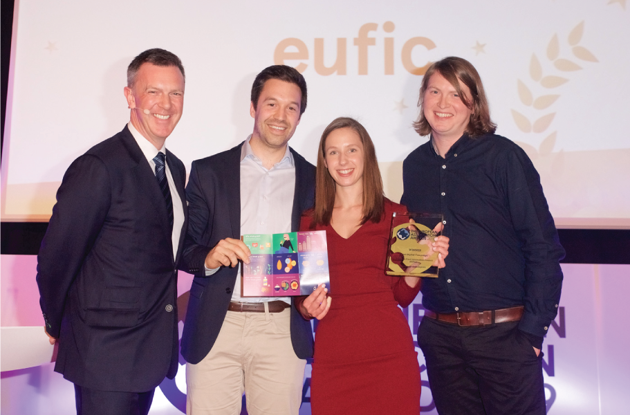European Association Awards EUFIC Hungry for whole grain digital campaign