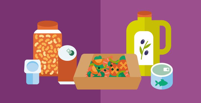 Luchando contra el desperdicio de la comida con embalaje innovador de los alimentos