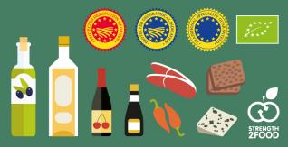 Systèmes de qualité alimentaire de l'UE (infographie)