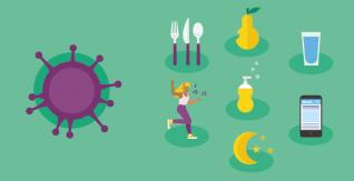 Comment rester en bonne santé pendant l'isolement ou la quarantaine (COVID-19)