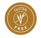 Free-from label for gluten free products
