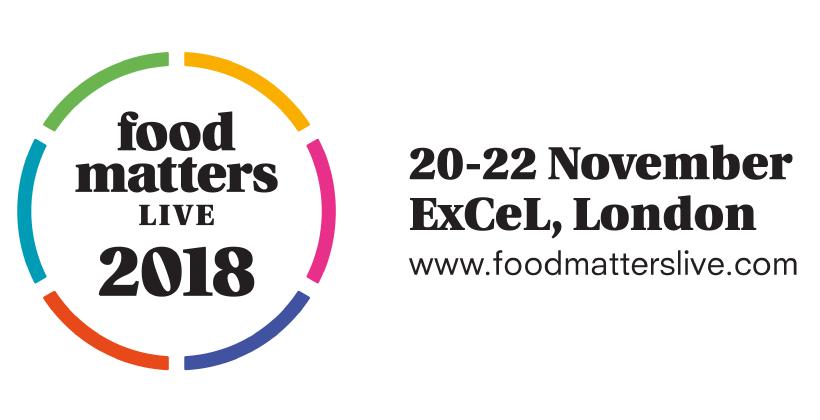 Food Matters Live 2018, 20-22 November