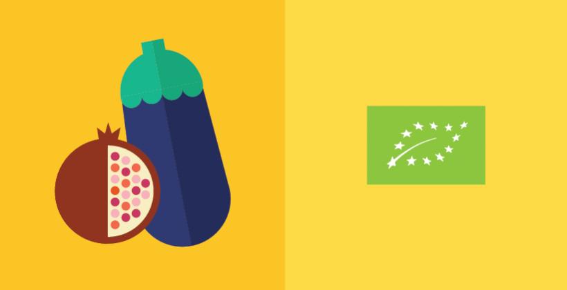 Les aliments biologiques d'origine végétale