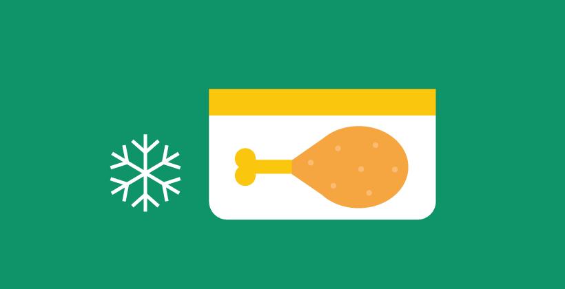 Safe food storage at home