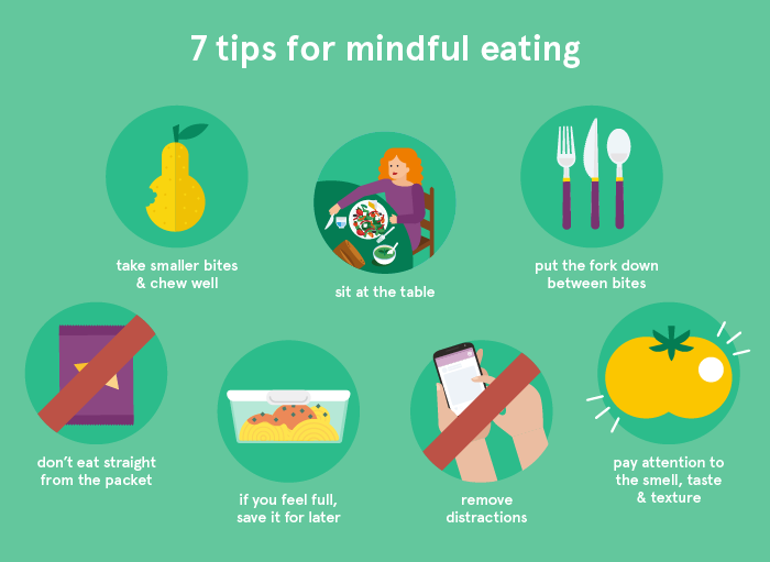 7 tips for mindful eating