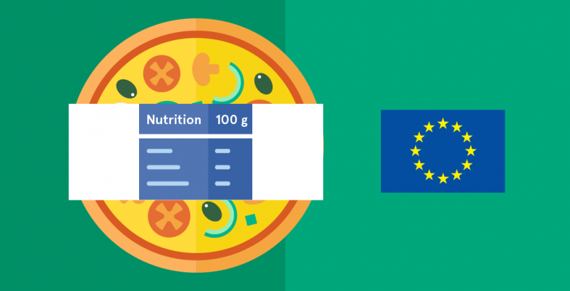 Nutrition labelling becomes mandatory in Europe