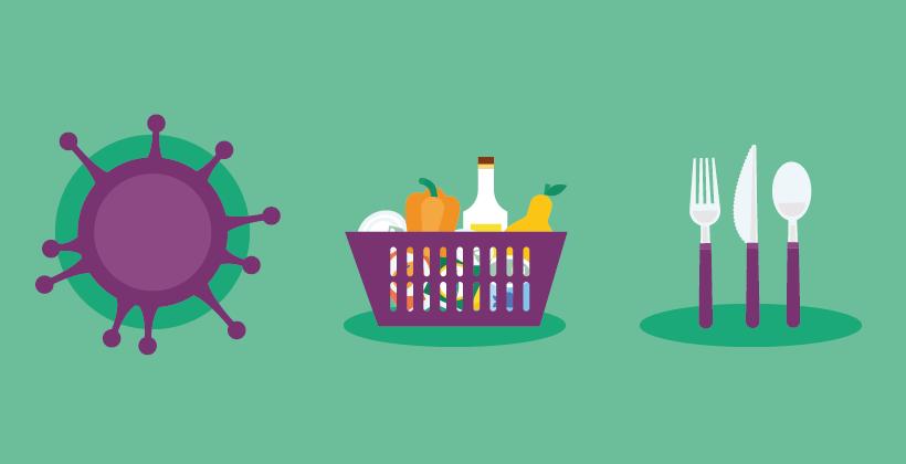 10 consigli per mangiare sano durante la quarantena o l'isolamento (COVID-19)