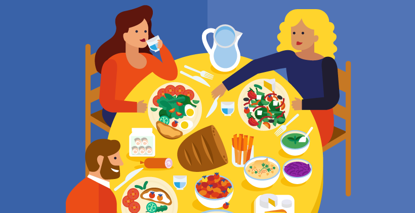 The positive influence of family meals on children's food choice