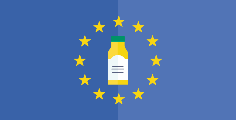Nutrition labels everywhere in Europe