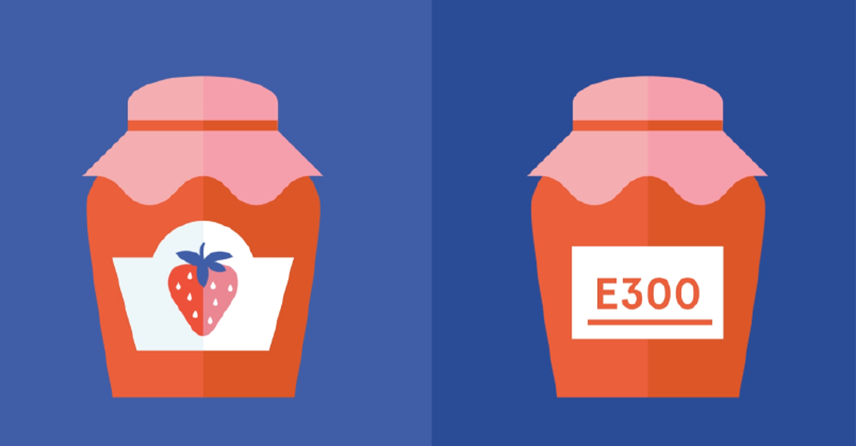 Food additives used in the EU