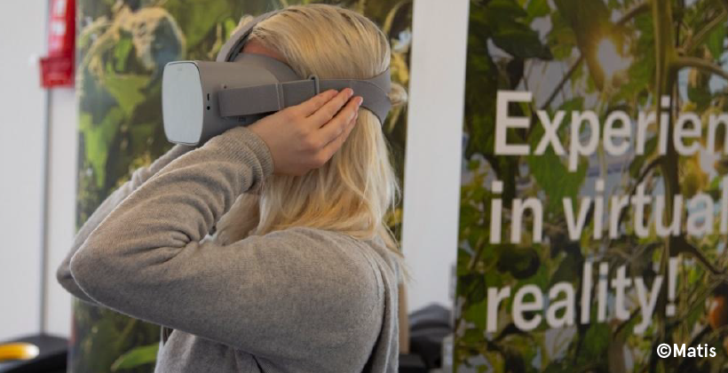 Virtual Reality to Connect People with New Food Technology