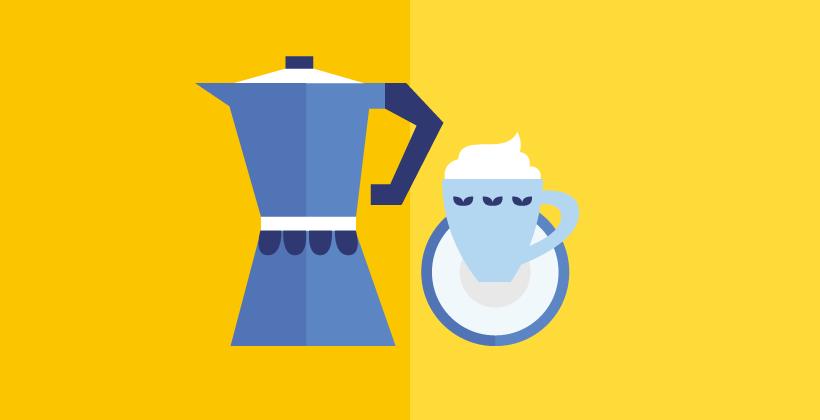 Kafein infografik