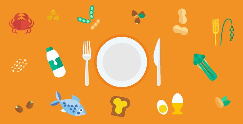 Allergie alimentari (Infografica)