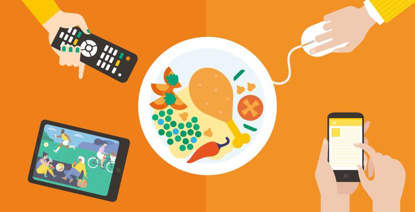 Passare dal mangiare in modo sconsiderato a mangiare in modo consapevole