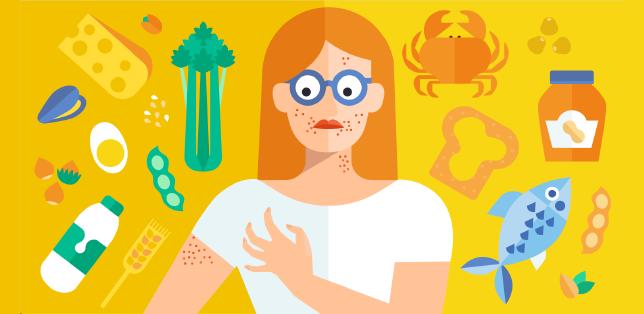 Indicazione degli allergeni
